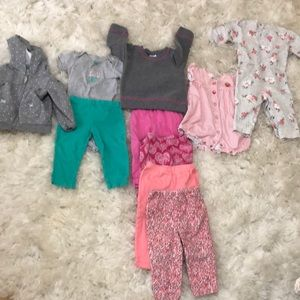 Other - Multiple 12 month size baby girl clothing